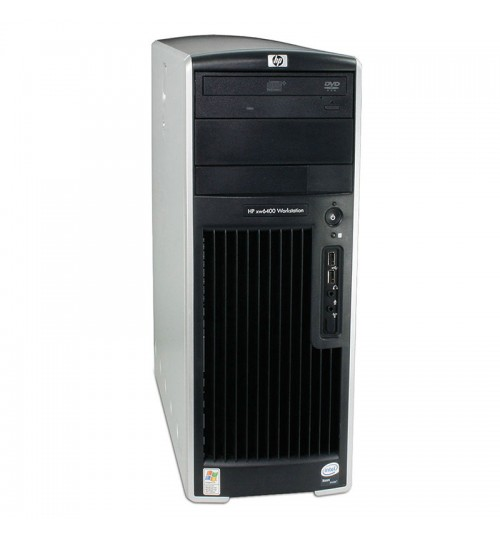 HP XW6400 intel Xeon 2 x 2.00 GHZ Workstation