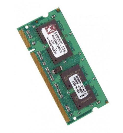 Μνήμη ram SO-DIMM DDR2 512MB